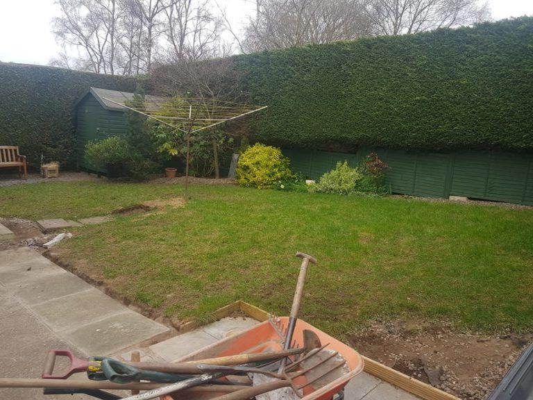 Dundee Garden Before